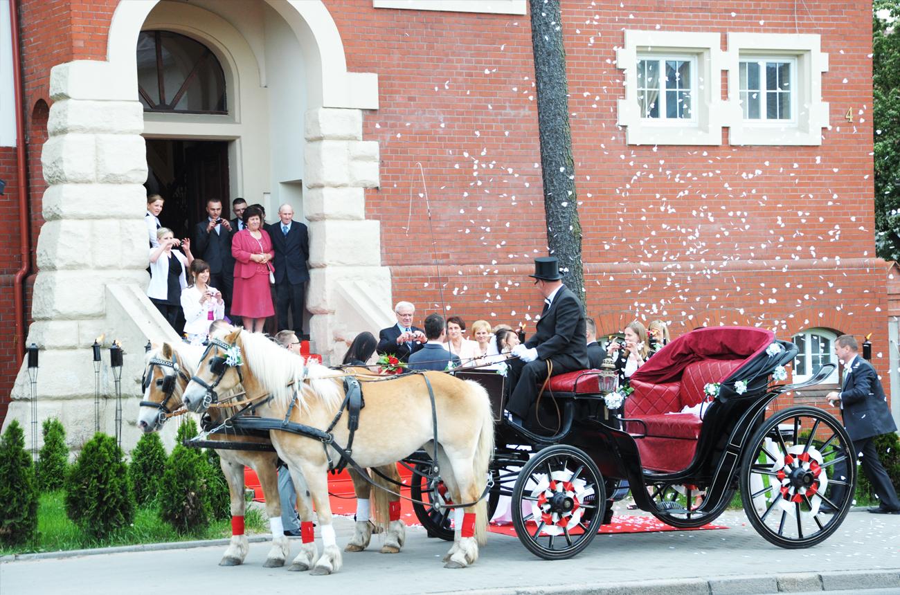 powitanie weselne